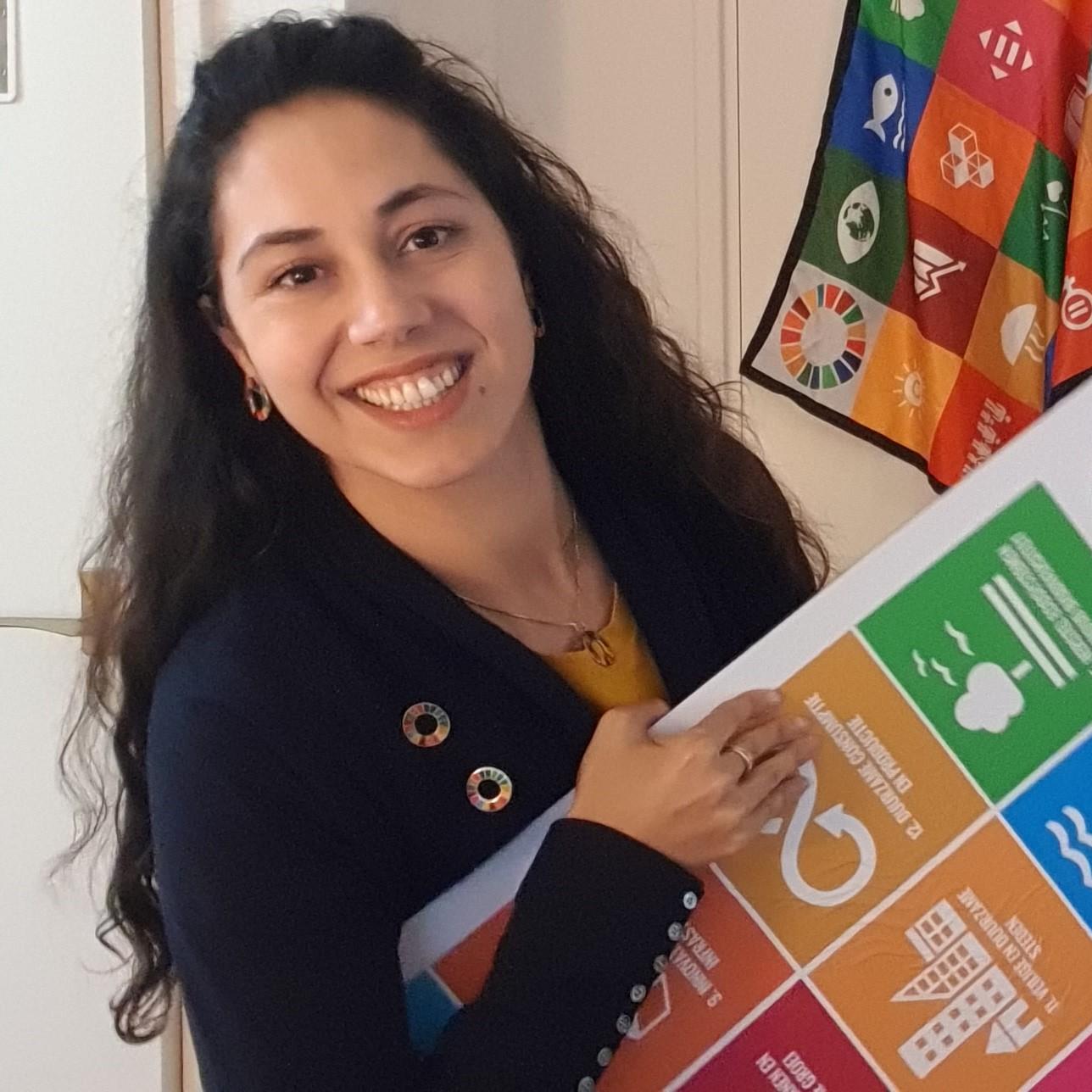Mena Leila Global goals 2